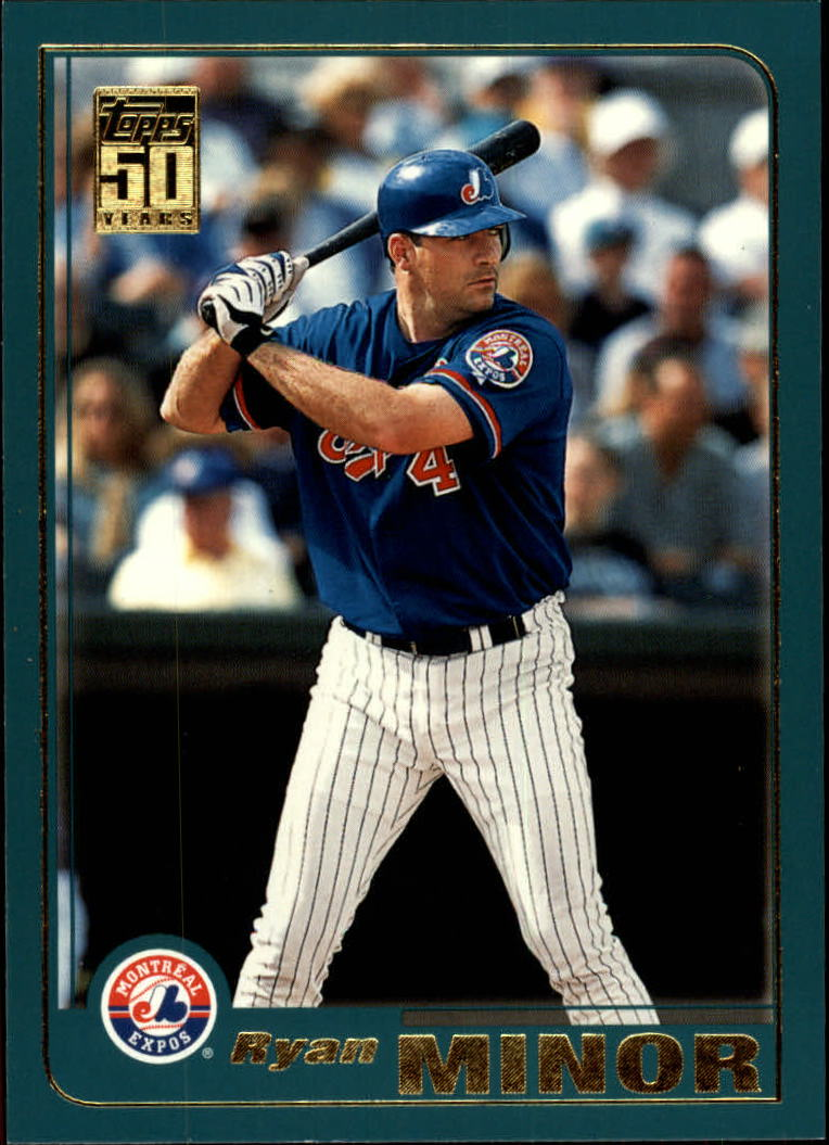 2001 Topps Traded #T83 Ryan Minor