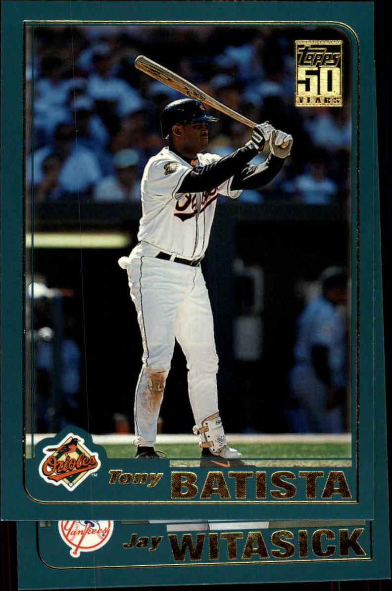 2001 Topps Traded #T89 Tony Batista