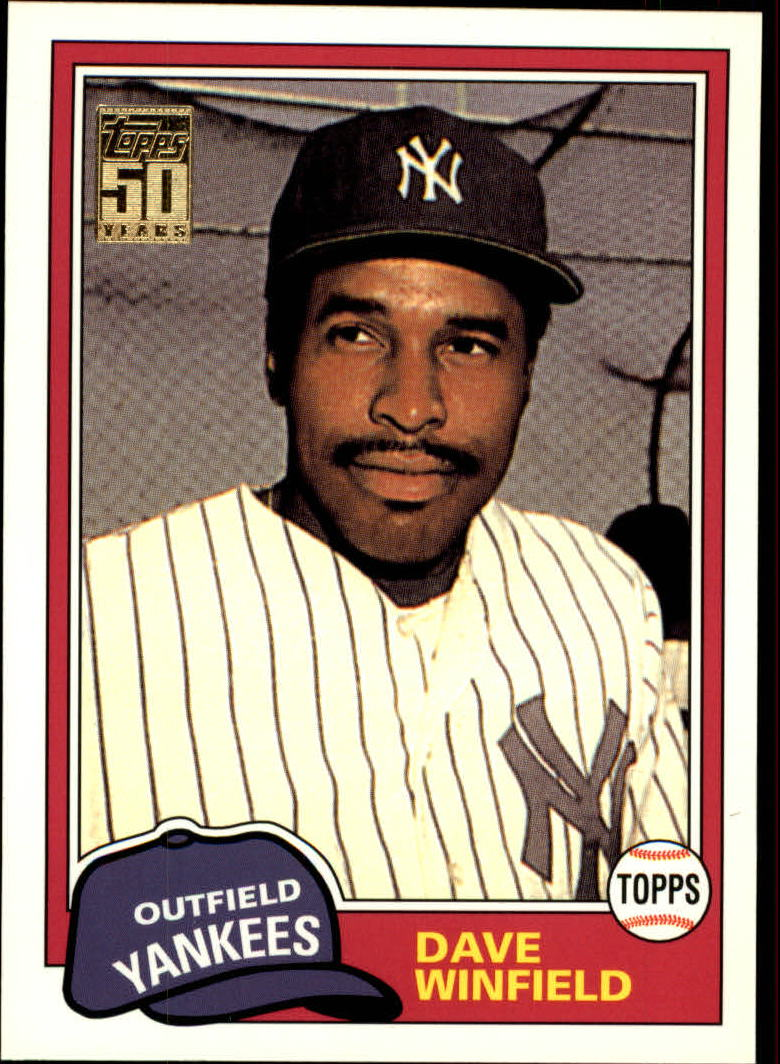 2001 Topps Traded #T103 Dave Winfield 81
