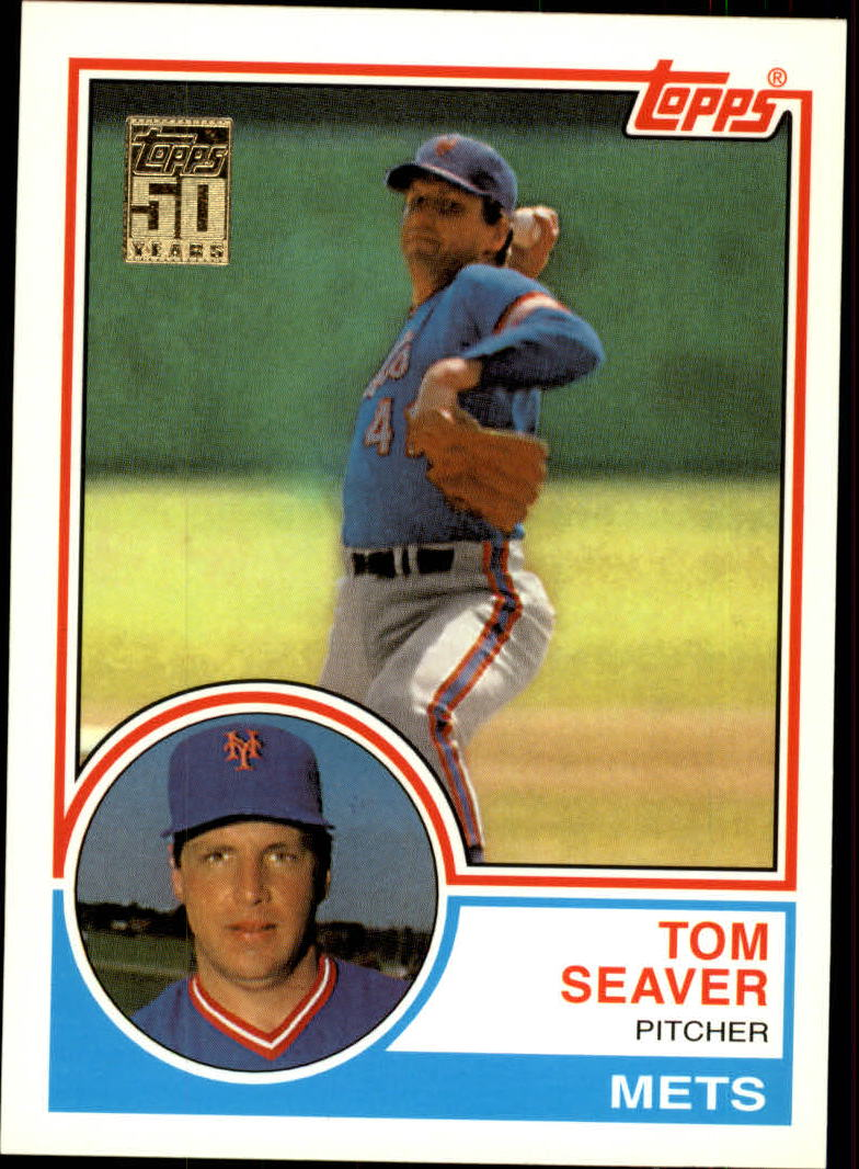 2001 Topps Traded #T107 Tom Seaver 83