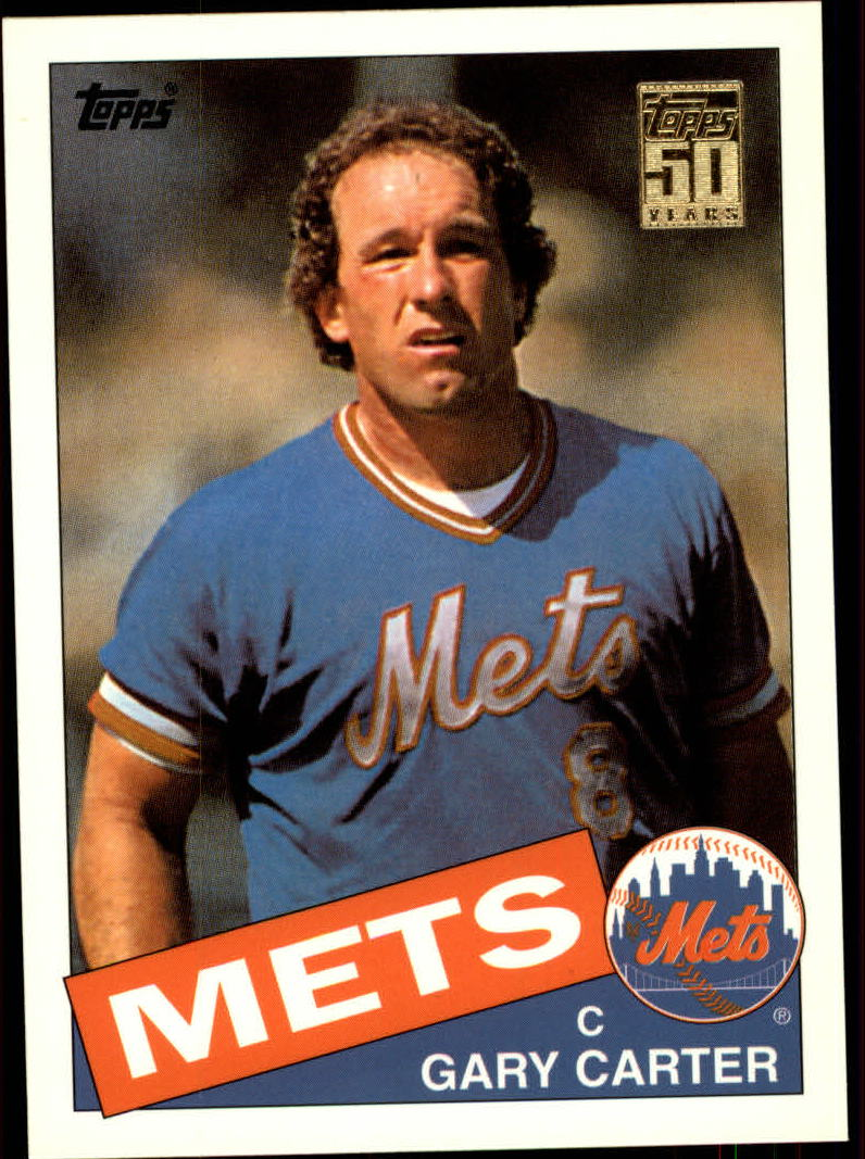 2001 Topps Traded #T111 Gary Carter 85