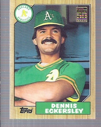 2001 Topps Traded #T125 Dennis Eckersley 87