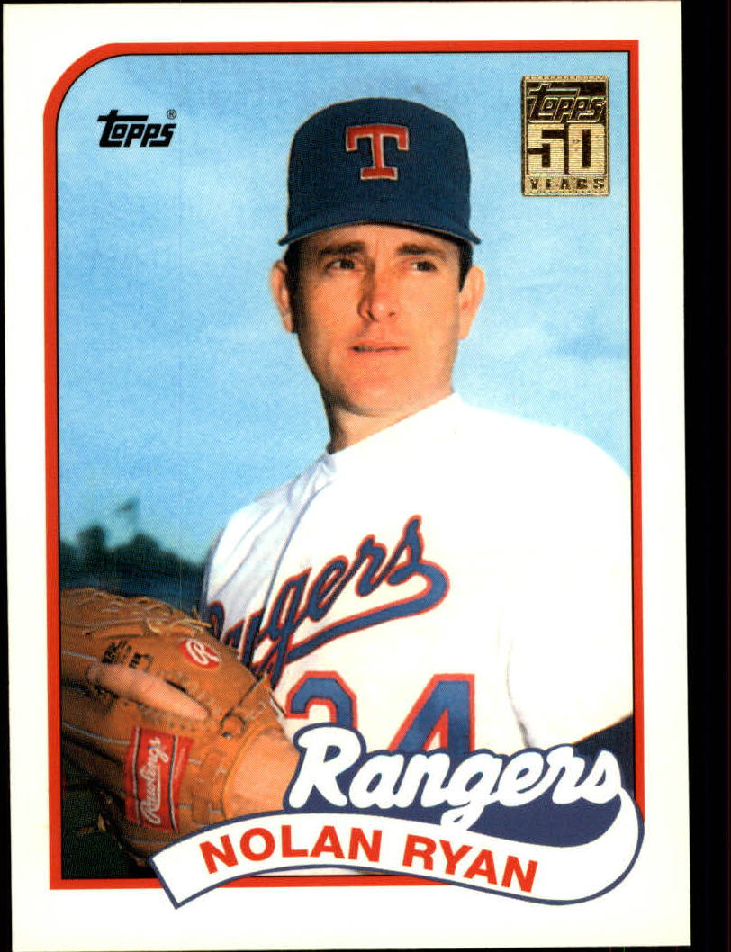 2001 Topps Traded #T134 Nolan Ryan 89