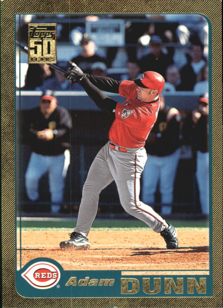 2001 Topps Traded Gold #T98 Adam Dunn