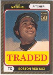 2001 Topps Traded Gold #T102 Juan Marichal 74
