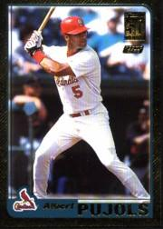 2001 Topps Traded Gold #T247 Albert Pujols