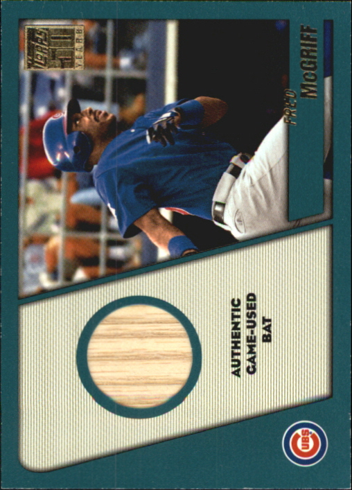 2001 Topps Traded Relics #FM Fred McGriff Bat