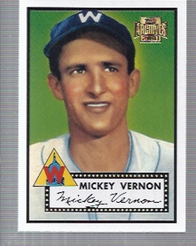 2001 Topps Archives #18 Mickey Vernon 52