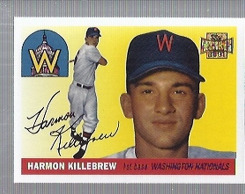 2001 Topps Archives #24 Harmon Killebrew 55