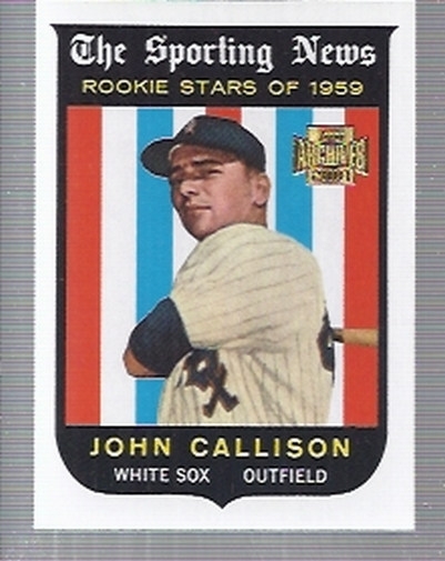 2001 Topps Archives #32 Johnny Callison 59