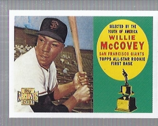 2001 Topps Archives #35 Willie McCovey 60