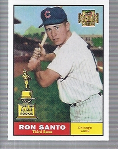 2001 Topps Archives #38 Ron Santo 61