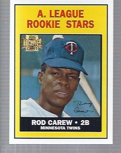 2001 Topps Archives #49 Rod Carew 67