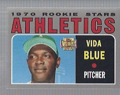 2001 Topps Archives #62 Vida Blue 70