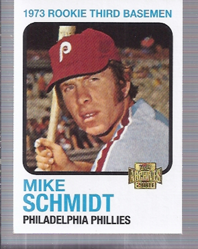 2001 Topps Archives #71 Mike Schmidt 73