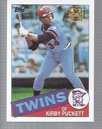 2001 Topps Archives #85 Kirby Puckett 85