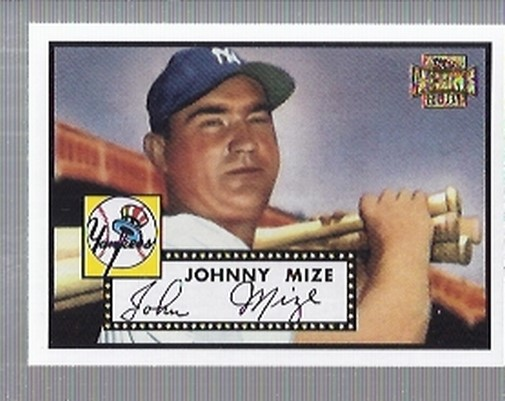 2001 Topps Archives #90 Johnny Mize 52