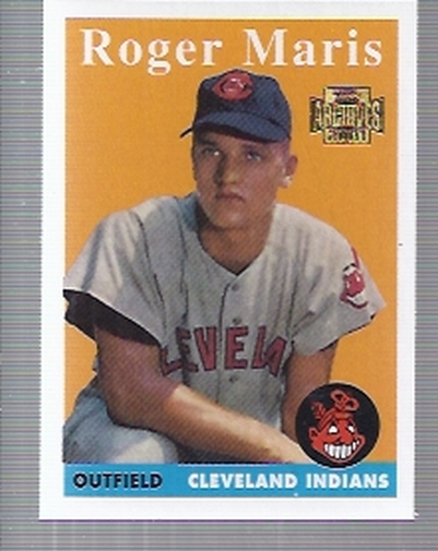 2001 Topps Archives #98 Roger Maris 58