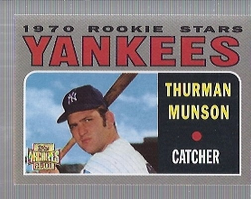 2001 Topps Archives #100 Thurman Munson 70