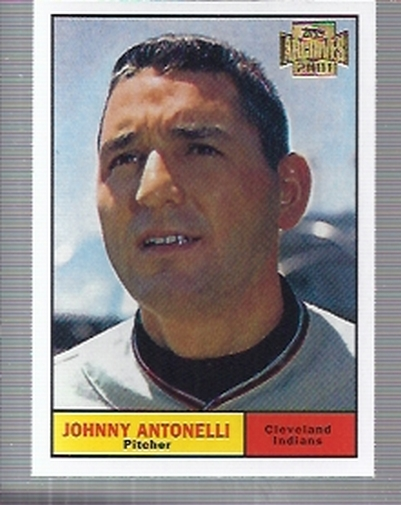 2001 Topps Archives #114 Johnny Antonelli 61