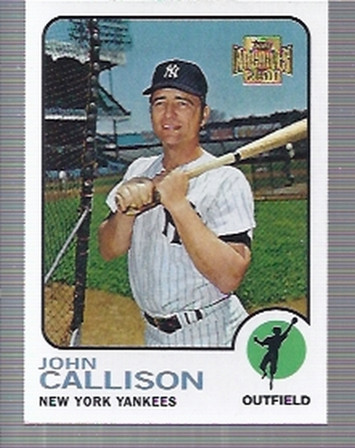 2001 Topps Archives #131 Johnny Callison 73 front image