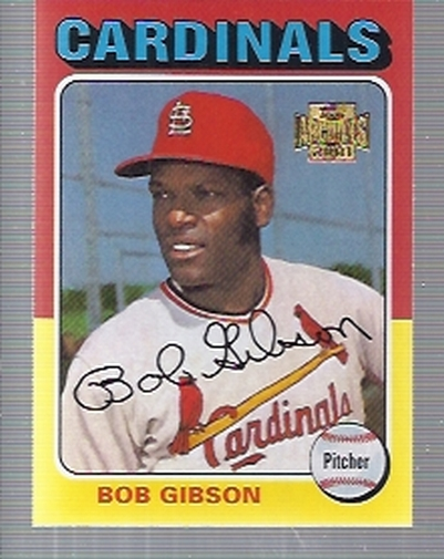 2001 Topps Archives #137 Bob Gibson 75