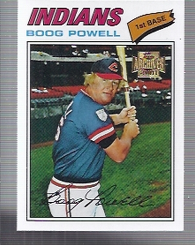 2001 Topps Archives #149 Boog Powell 77
