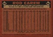 2001 Topps Archives #151 Rod Carew 86 back image