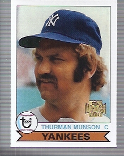 2001 Topps Archives #153 Thurman Munson 79
