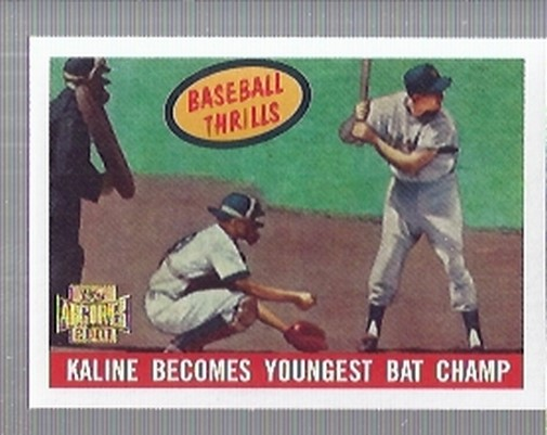 2001 Topps Archives #216 Al Kaline 59 Thrill