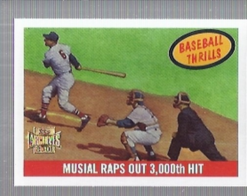 2001 Topps Archives #217 Stan Musial 59 Thrill