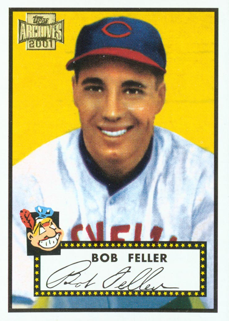 2001 Topps Archives #229 Bob Feller 52