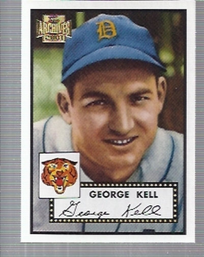 2001 Topps Archives #231 George Kell 52