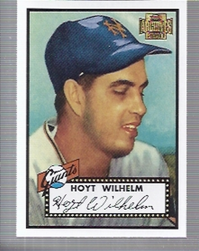 2001 Topps Archives #241 Hoyt Wilhelm 52