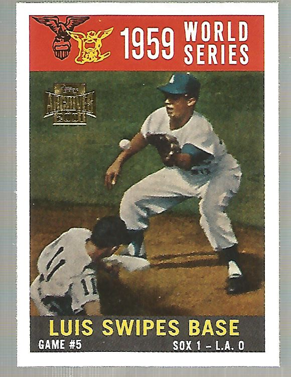 2001 Topps Archives #258 Maury Wills 60