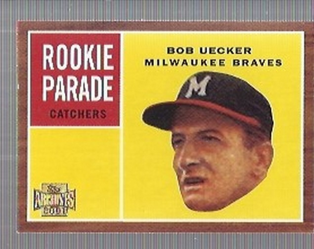 2001 Topps Archives #265 Bob Uecker 62