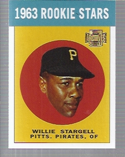 2001 Topps Archives #266 Willie Stargell 63