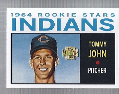 2001 Topps Archives #268 Tommy John 64