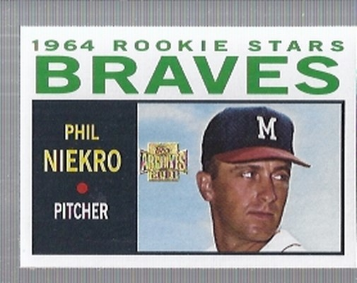 2001 Topps Archives #269 Phil Niekro 64