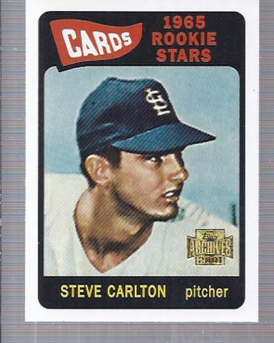 2001 Topps Archives #271 Steve Carlton 65