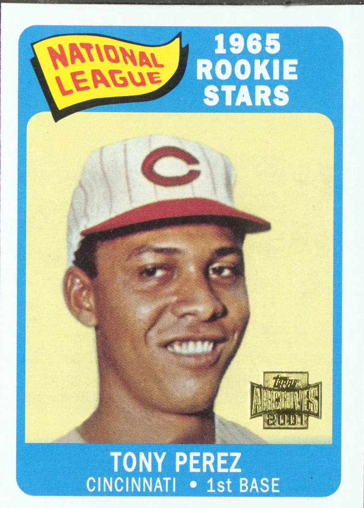 2001 Topps Archives #273 Tony Perez 65