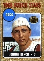 2001 Topps Archives #279 Johnny Bench 68