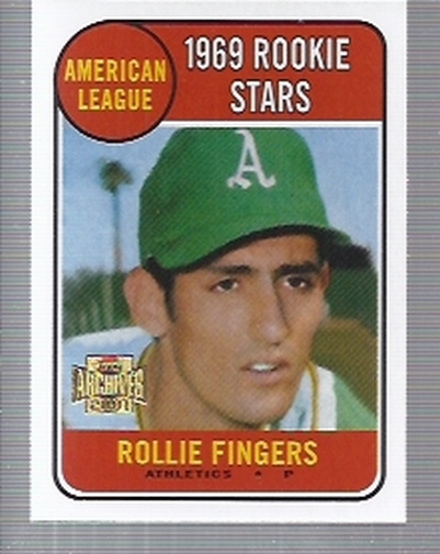 2001 Topps Archives #281 Rollie Fingers 69