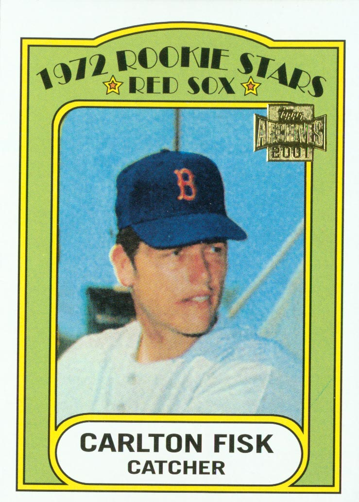 2001 Topps Archives #290 Carlton Fisk 72