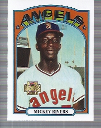 2001 Topps Archives #291 Mickey Rivers 72