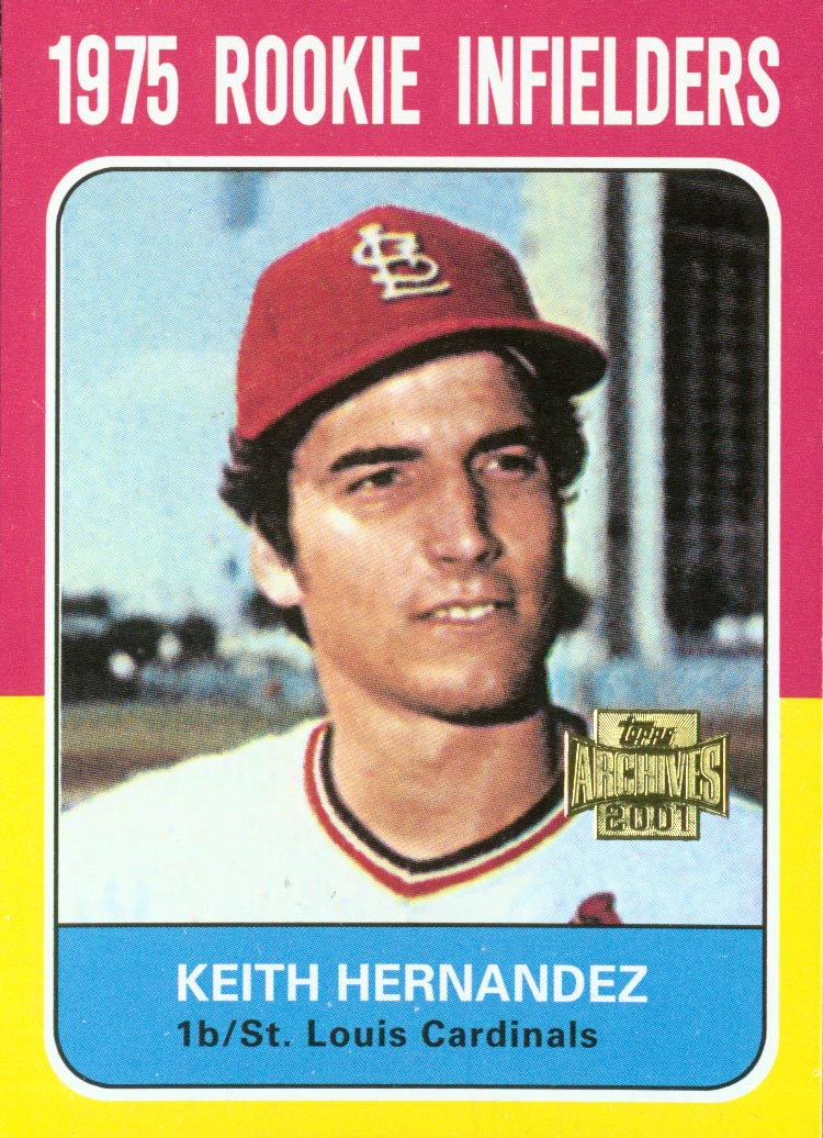 2001 Topps Archives #297 Keith Hernandez 75