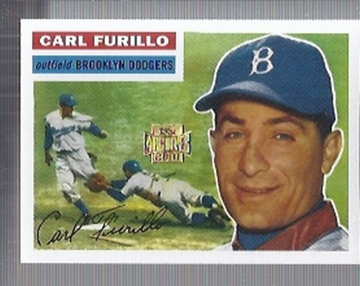 2001 Topps Archives #320 Carl Furillo 56