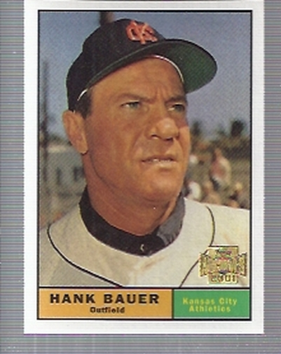 2001 Topps Archives #333 Hank Bauer 61