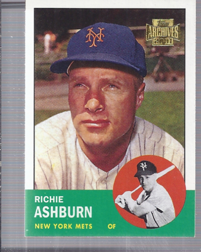 2001 Topps Archives #335 Richie Ashburn 63