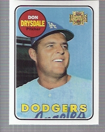 2001 Topps Archives #346 Don Drysdale 69